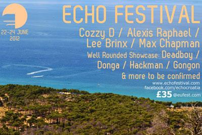 Echo Festival early bird flyer 2012
