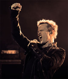 Billy Idol and Peace and Love 2012