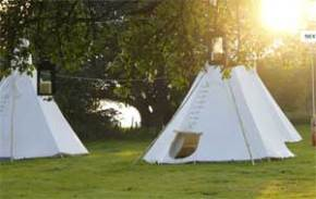 Hop Farm Camping Tipis
