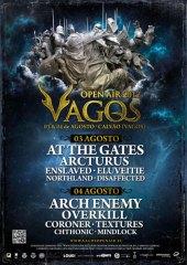 Vagos Open Air Festival Poster 2012