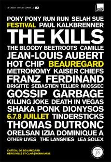 Festival Beauregard 2012 Poster