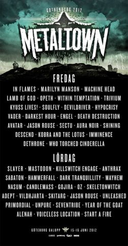 Metal Town 2012 Poster